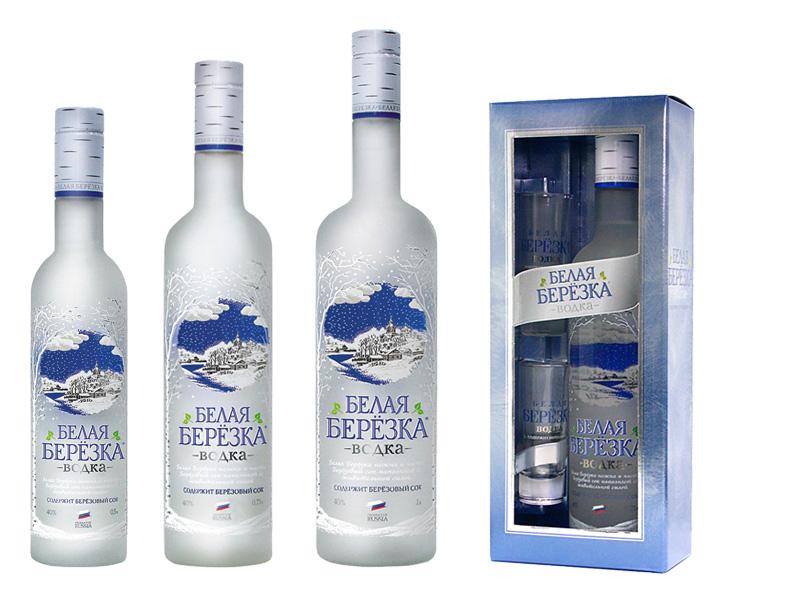 """""""Белая береза"""": водка для настоящих ценителей алкоголя"""